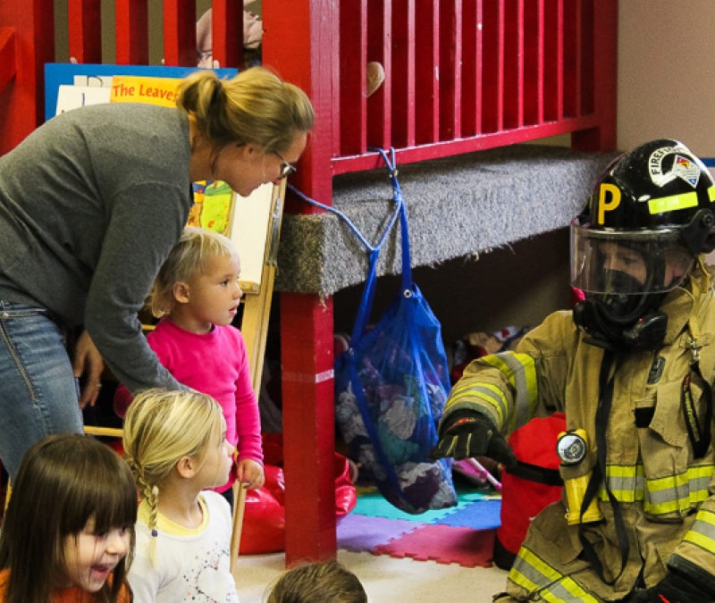 Milford Fire Department Visit